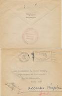"""Cachet """" SECRETARIAT GENERAL MILITAIRE PRÉSIDENCE DE LA RÉPUBLIQUE """" COTY Lettre 18/2/50 > AMBASSADEUR YOUGOSLAVIE - 1921-1960: Modern Period"""
