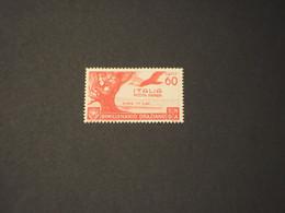 ITALIA  REGNO -  P.A. 1936 ORAZIO 60 C. - NUOVO(++) - Airmail