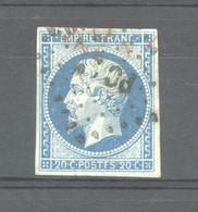 FRX  829  -  France  :  Yv  14A   (o)  Obl.   Ambulant  PC - 1849-1876: Klassieke Periode