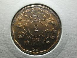 Uganda 2 Shillings 1987 - Uganda