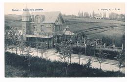 CPA : NAMUR - Route De La Citadelle - Hôtel Café Restaurant Au Chalet Du Prince Albert - Laiterie à L'arrière Plan - Namur