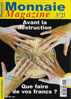 Monnaie Magazine  NUMEROS 23 - French
