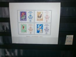 BLOC HONGRIE MNH N°57 - Blocks & Sheetlets