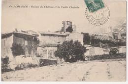 [13] Bouches-du-Rhône >PUYLOUBIER Ruines Du Château Et La Vieille Chapelle - Other Municipalities