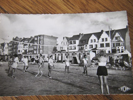 A1 59 BRAY DUNES  CPSM Sport Volley Ball Animée - Bray-Dunes