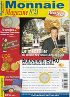 Monnaie Magazine  NUMEROS 21 - French