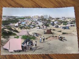A1 59 BRAY DUNES  CPSM  Les Campings Tente Animée - Bray-Dunes