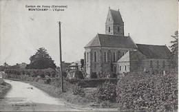 Montchamp L'eglise Carte En Bon état - Other Municipalities