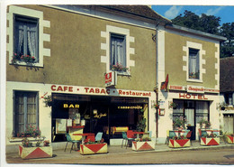 CPA 58 PONT St Saint OURS - Tabac Hôtel Restaurant - Chez YVETTE - Terrasse - Other Municipalities