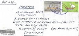 OMAN  1999  AIRMAIL COVER   TO PAKISTAN. - Pakistan