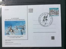 Slovaquie 2000 CDV 50 Journée De L'armée Révolution 1848 1849 - Postales