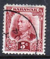 Sarawak 1932 A Single 5c Definitive Stamp - Sarawak (...-1963)