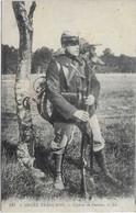 ARMEE FRANCAISE MILITAIRE EN UNIFORME CYCLISTE 1914 VELO PLIABLE DANS LE DOS GROS PLAN A  VOIR - Uniformen