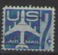 STATI UNITI D'AMERICA POSTA AEREA 1958 JET STILIZZATO IN VOLO UNIF. A51 USATO VF - 2a. 1941-1960 Usados