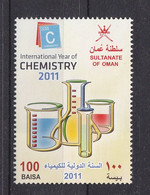 OMAN SULTAN ROYAL CHEMISTRY  DAY SET  1V  MINTNH - Oman