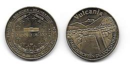 (Medailles). Monnaie De Paris Vulcania 2009 - 2009
