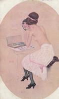 Raphael Kirchner // Beauté Féminine, Froufrou, Peinte Par Elle-même - Kirchner, Raphael