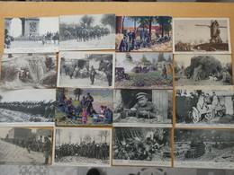 BELGIQUE Guerre 1914-1918 32 Cartes Postales Belges Très Animées - War 1914-18