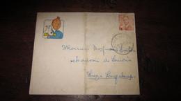 TINTIN ENVELOPPE TINTIN ANNEE 50 - Tintin