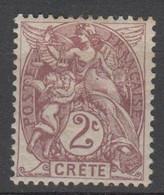 CRETA - Ufficio Francese - 2c - New Hinged - Unused Stamps