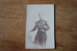 Cdv Officier Second Empire  Bicorne  épée - War, Military