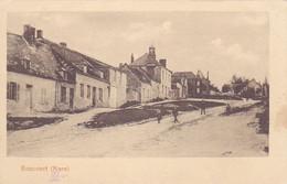 ( 02) - Boncourt Strasse Carte Allemande  1° Guerre - Other Municipalities