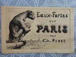 75 PARIS EAUX FORTES SUR PARIS PAR CH PINET - Zonder Classificatie