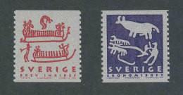 SUEDE 2001 - YT 2201/2202 - Facit 2226/2227 - Neuf ** MNH - Patrimoine Mondial, Gravures Rupestres - Ongebruikt