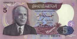 Tunisie 5 Dinars (P79) 1983 (Préf: C/1) -UNC- - Tunisia
