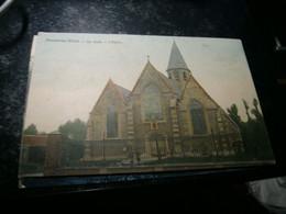 C.P.A.   MOERBEKE-WAAS  L'église   Couleur - Unclassified