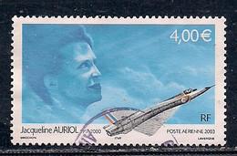 FRANCE POSTE AERIENNE   N°   66   OBLITERE - 1960-.... Used