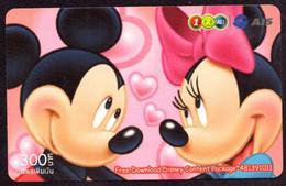 TK -  N02302 DISNEY - Thailand - Prepaid 12call - Disney