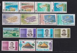 F-EX22154 SAMOA I SISIFO MNH 1966-67 STAMPS LOT - American Samoa