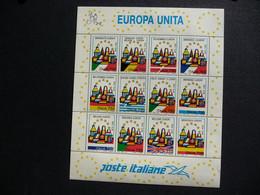 (va) .ITALY - ITALIA - 1993 ** United Europe - Europa Unita ** Block - Sheet ** MNH - 1991-00:  Nuevos