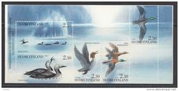 FINLANDE Mi.nr:1223-1227 Wasservögel 1993 ( MH 35 ) NEUF Sans CHARNIERE / MNH / POSTFRIS - Nuevos