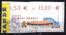 France Oblitéré Used  2006 Quai Branly  N° 3937  Cachet Rond - Non Classés