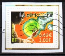 France Oblitéré Used  2001 La Penicilline  N° 3422  Cachet Vague - Non Classés