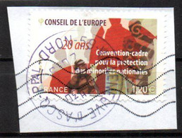 France Oblitéré Used  2018 Conseil De L'Europe  N° 173 Cachet Rond - Non Classés
