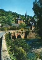 ~~ Villecomtal - Entrée Du Bourg , Pont Sur Le Dourdou - Other Municipalities