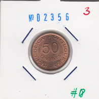 Timor 50 Centavos 1970 Km#18 - Timor