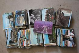 Lot De 1000 Cartes Semi-modernes Et Modernes De FRANCE - 500 Postcards Min.