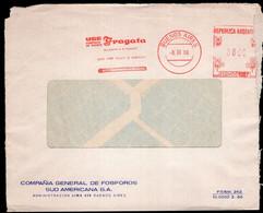 Argentina - 1965 - Lettre - Cachet Spécial - Affranchissement Mécanique - Fosforos Fragata - A1RR2 - Covers & Documents