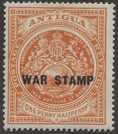 ANTIGUA 1918 SG 54 Mint MH - 1858-1960 Kronenkolonie
