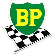 Autocollant Sticker BP Drapeau De Course - Stickers