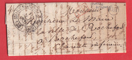 CAD TYPE 13 MORTAGNE SUR HUINE ORNE OR ST MARD DE RENO 1838 ROCHEFORT - 1801-1848: Precursors XIX