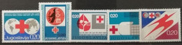 Yougoslavie 1972-1976 / Yvert Bienfaisance N°61-65 / ** - Beneficenza