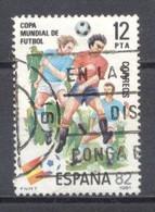España, 1981, Edifil 2613,copa Mundial De Futbol,(usado) - 1981-90 Usados