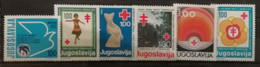 Yougoslavie 1979-1981 / Yvert Bienfaisance N°74-79 / ** - Beneficenza