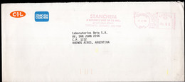 Canada - 1986 - Letter - Mechanical Postmark - STANCHEM - Air Mail - A1RR2 - Cartas