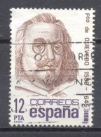 España, 1981, Edifil 2619,cent.Fco. De Quevedo,(usado) - 1981-90 Usados